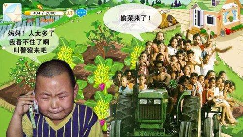 QQ农场 穷开心还是真寂寞