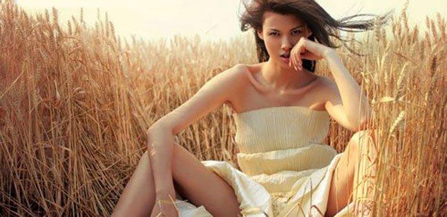 《麦田》拍成婚纱大片 彰显狂野美感