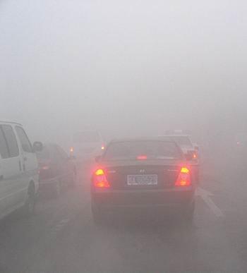 大雾天气危害大 高速公路行车谨记安全驾驶