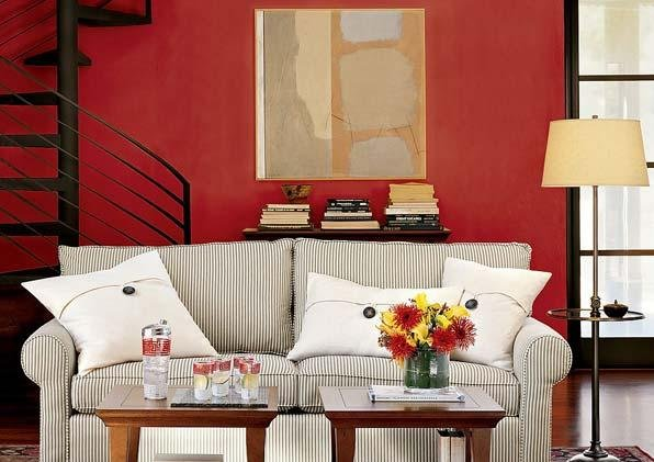 10款美式田园风格布艺沙发 舒适又随意