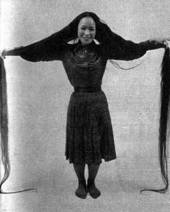 世界上头发最长的人