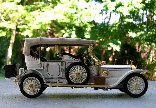 老爷款劳斯莱斯汽车模型赏析高清图片