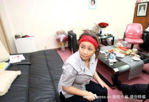 印尼女富豪住豪华牢房 内设女佣及卡拉OK设备