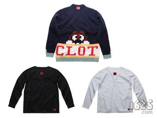陈冠希CLOT将发售2010早春系列线衣和V领Tee