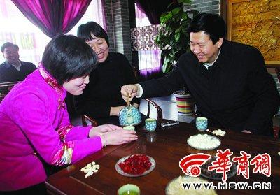 咸阳市长庄长兴:今年将实施百万人就业计划