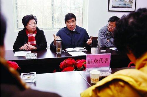 西安市长陈宝根:市民出行 政府天天惦记(图)