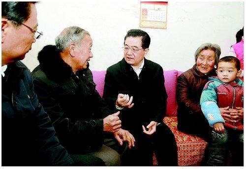 胡锦涛总书记在我省考察 强调做好民生工作