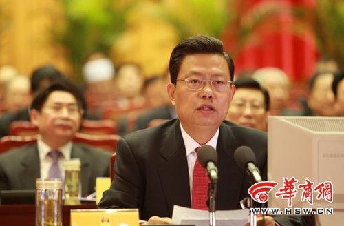 2010陕西两会闭幕 赵乐际:使人民生活更幸福