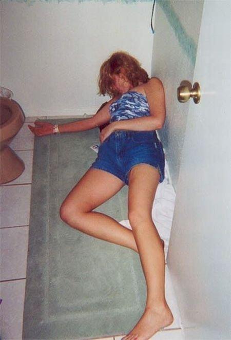 女人醉酒后的恐怖下场 竖
