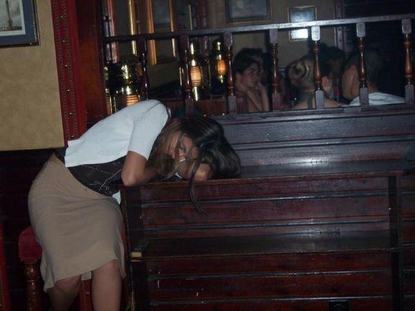 女人醉酒后的恐怖下场