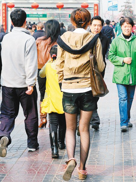 西安气温节节攀升 昨20.5℃20年来同期最热