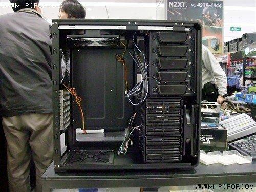 银欣ft01机箱内部结构一览