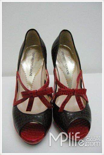 第一双婚鞋:emporio armani图片
