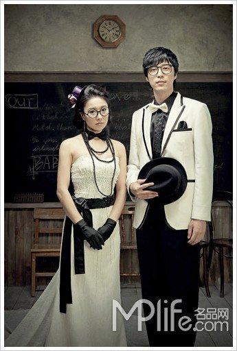 有范儿!韩星婚照都不敌
