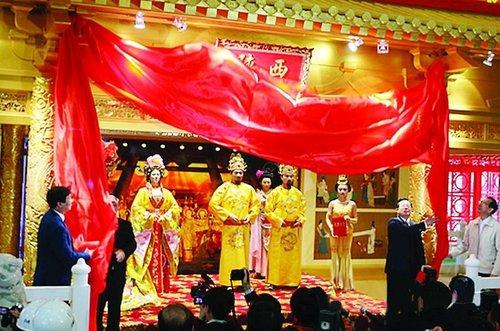 昨日2010上海世博会陕西会馆正式落成引关注