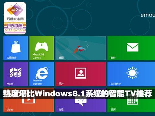 热度堪比Windows8.1系统的智能TV推荐
