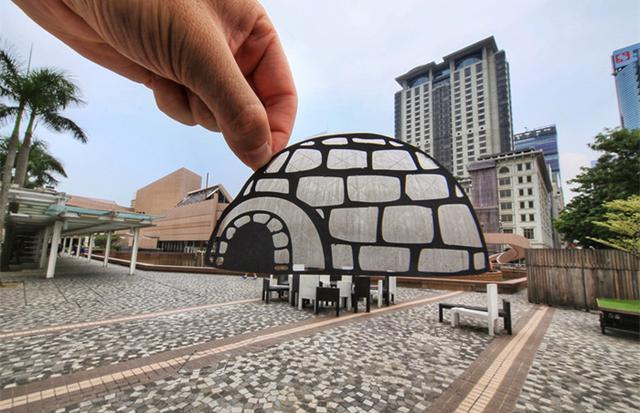 创意撞击生活 这些地标性建筑另有风味