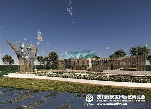 """该展园是由荷兰创意设计联盟主持设计的生态花园,秉承荷兰""""牧场之国"""""""