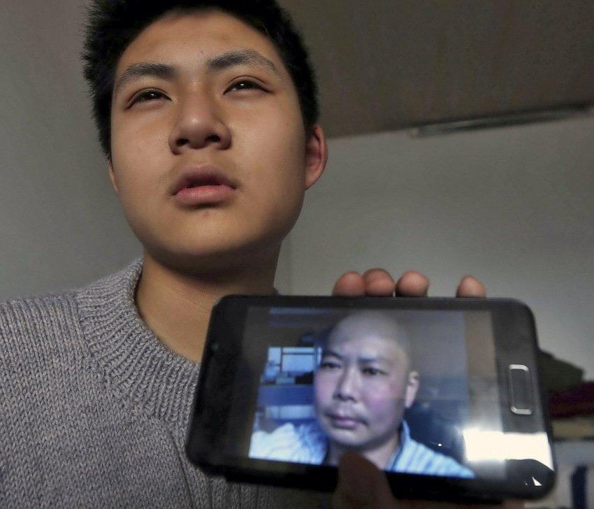 今年14岁的男孩王一竹是江苏南通第一初级中学的初二学生.2012图片