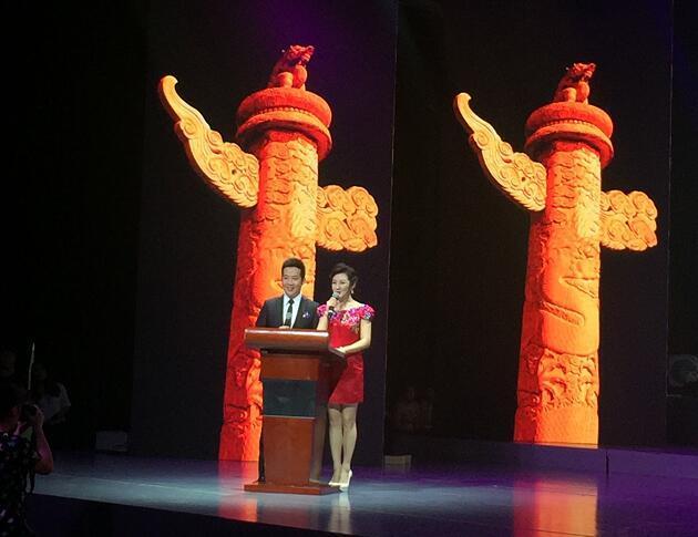 首届陕西省朗诵大赛在西安广电大剧院举行