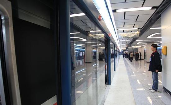 地铁2号线时刻表初步拟定 行车间隔为10分钟