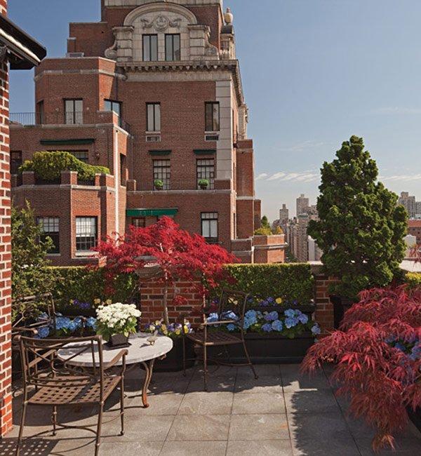 夏日里来降降温 30个创意楼顶花园设计