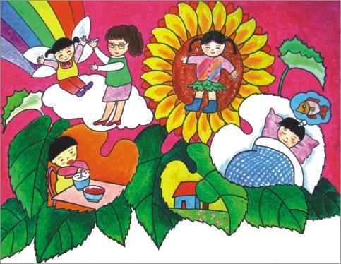 【小小艺术家】带给你快乐童年图片