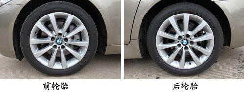 四轮均为固特异顶级防爆轮胎,而且四轮通风盘式刹车也应该是这个级别图片