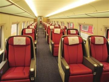 g138商务舱在几车厢-商务舱_高铁商务舱_商务舱和头等图片