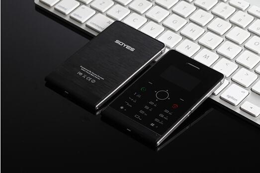 德国全金属触控卡片手机SOYES H1全球首发