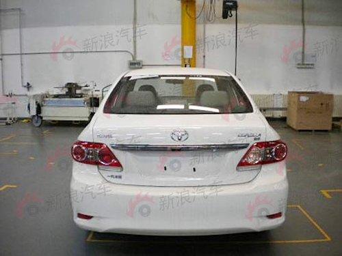 新款丰田卡罗拉本月26日蒋上市