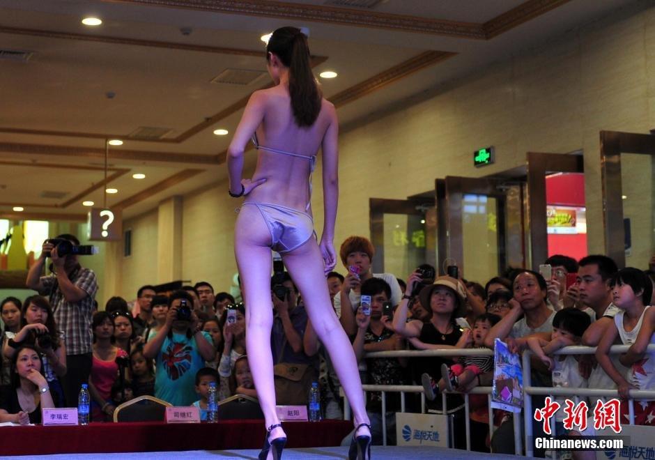 新丝路中国模特大赛泳装秀惹人眼 - 热点 石鼓阁-宝鸡