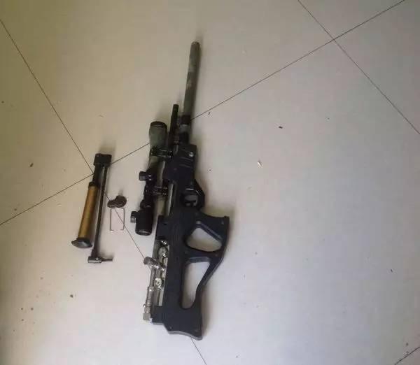 吴堡男子网购配件组装气枪 非法携带枪支被拘5日