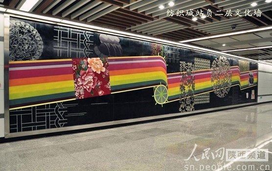 西安纺织城地铁出口平面图