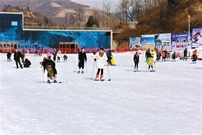 韩城市第三届冰雪季开幕 体验别样的冰雪魅力