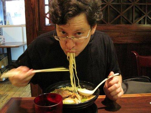 日本人吃面讲究一根不剩