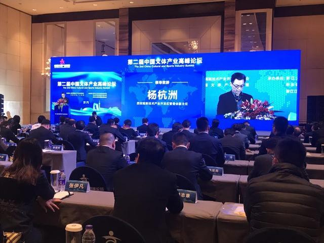 第二届中国文体产业高峰论坛在西安举行