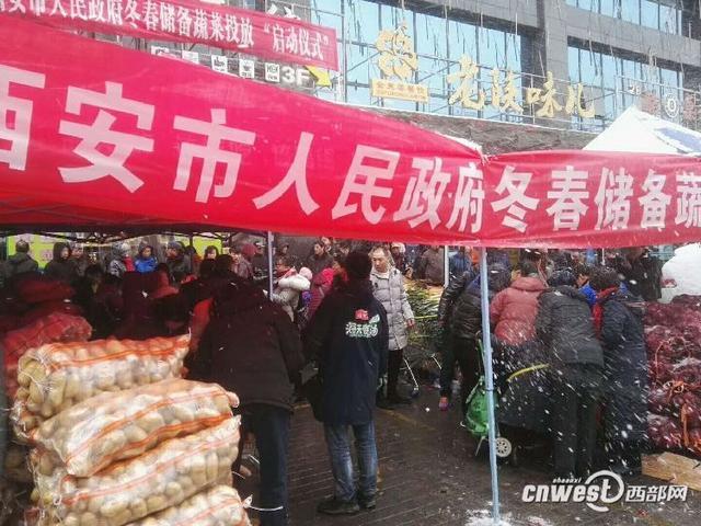 陕西紧急通知保障蔬菜投放 西安将投五千吨蔬菜