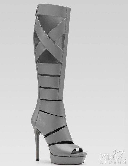 优雅性感!gucci新款凉鞋