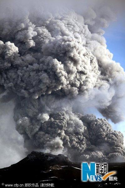 冰岛火山喷发欧航空再受威胁