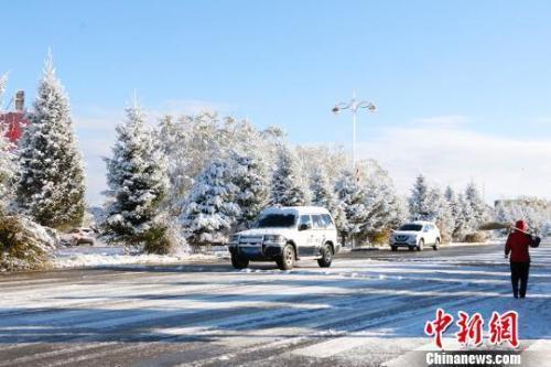 较强冷空气来袭 陕西中北部等地将出现初霜冻