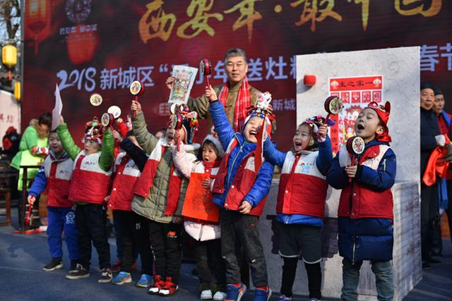 话小年·送灶糖 永兴坊春节文化活动盛大举行