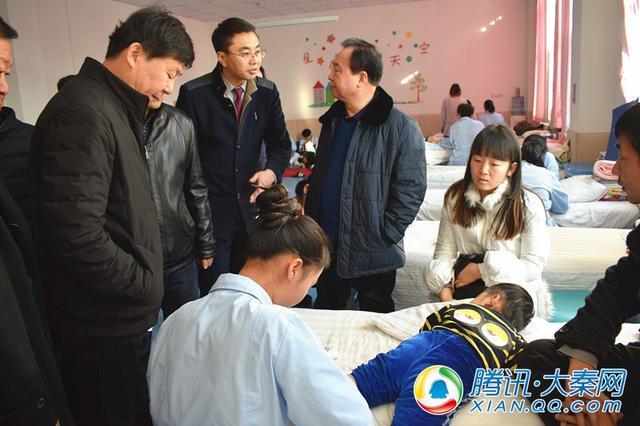 榆林市领导展开对榆林高新医院事业单位登记工作的视察调研活动