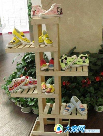 diy帆布鞋