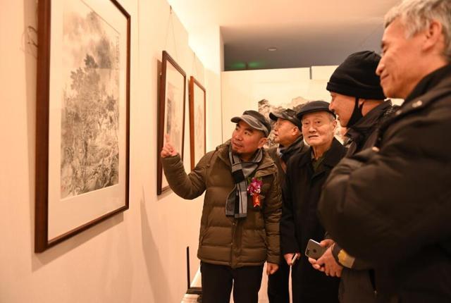 """""""翰墨迎春--当代实力派画家邀请展""""西安举办 持续至25日免费向公众开放"""