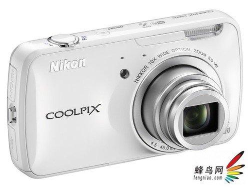 支持智能系统 尼康发布Coolpix S800c