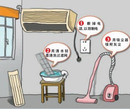 动动手自己在家洗空调 预防致命军团菌
