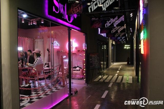 """西安碑林创业咖啡街区开街 """"情景式""""成首创"""