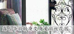 五大窍门 小阳台华丽变身爱丽丝后花园
