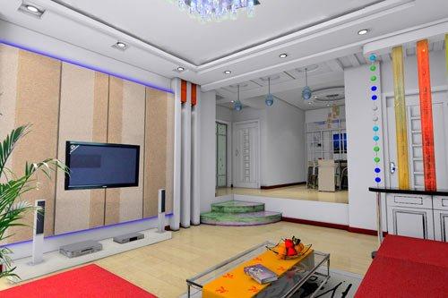 客厅吊棚造型图片